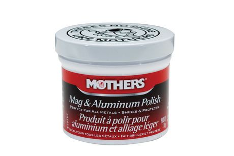 Mothers produit polir pour aluminium et alliage l ger for Polissage aluminium miroir