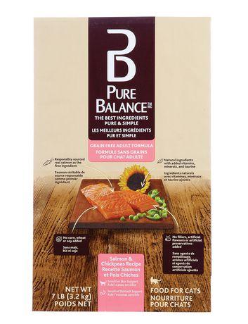 Formule Nourriture sèche pour chats adultes sans grains de Pure Balance - image 1 de 1