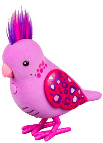 Little Live Pets Jungle Jessie Tweet Talking Bird Pet Doll