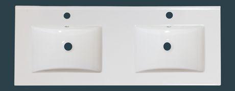 American Imaginations 59-in. W Ceramique Top Ensemble White - image 8 of 9