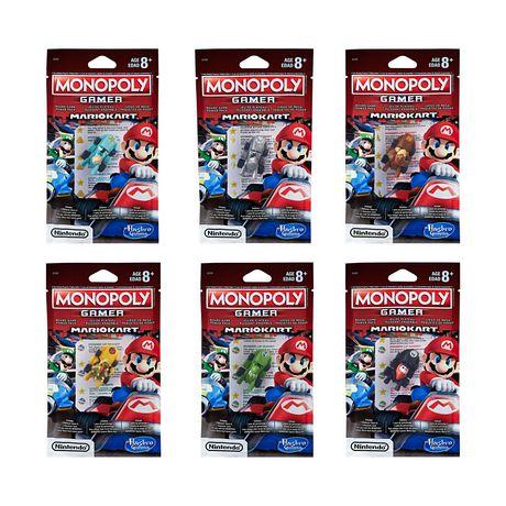 Hasbro Gaming Monopoly Gamer Mario Kart Power Pack - image 1 of 8