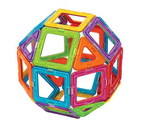 Magformers Rainbow Magnetic Construction Set - image 2 of 5