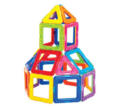 Magformers Rainbow Magnetic Construction Set - image 4 of 5