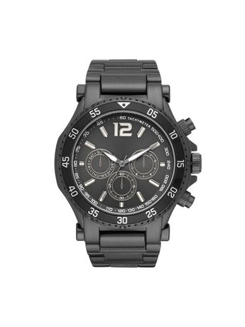 Men's George Fashion Watch in Gunmetal Plating and Faux Multifunction Dial - image 1 of 1