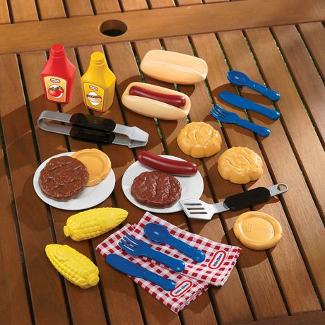 Little Tikes Backyard Barbecue Grillin' Goodies | Walmart ...