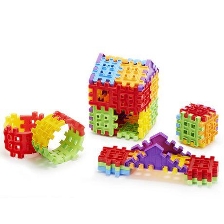 Sac de 100 pièces Waffle Blocks - image 1 de 4