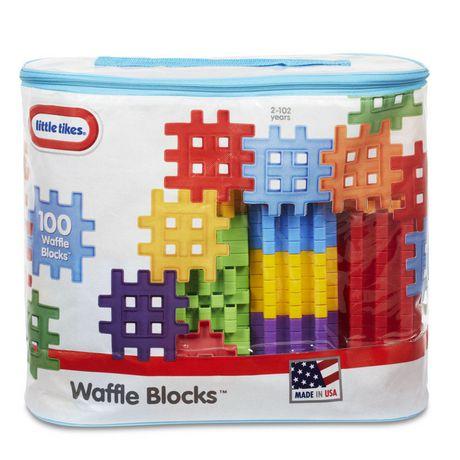 Sac de 100 pièces Waffle Blocks - image 4 de 4