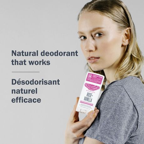 Schmidt's Rose & Vanilla Natural Deodorant Stick - image 6 of 7