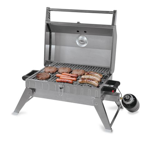 Backyard Grill Stainless Steel Table Top Gas Grill ...