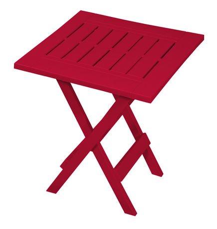 Table d appoint pliante de gracious living walmart canada for Table pliante walmart