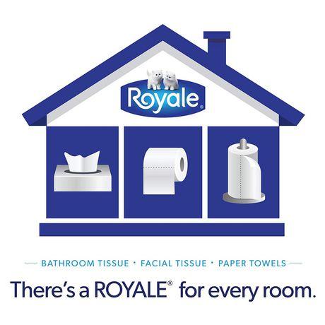 Royale Velour Ultra Plush Toilet Paper, 20 Triple plus equal 62 rolls - image 9 of 9