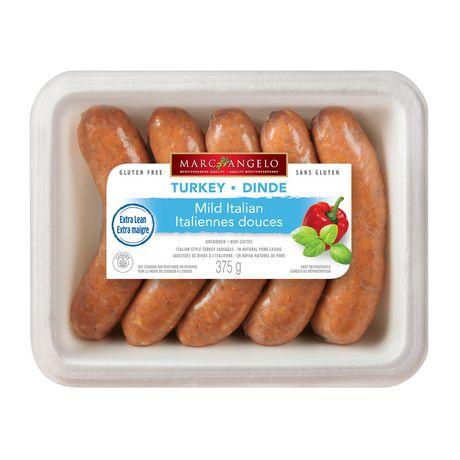Marcangelo Foods Marcangelo Sweet Italian Style Turkey Sausages   Walmart Canada