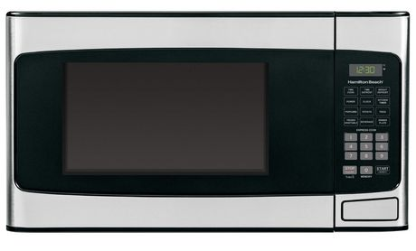 Hamilton Beach 1 1 Cu Ft Stainless Steel Microwave