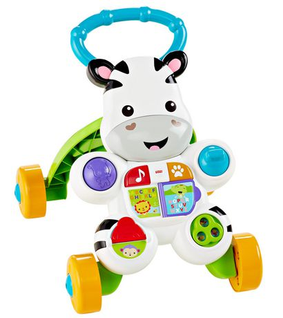 Fisher-Price Learn with Me Zebra Walker Playset - English Edition - image 1 of 9