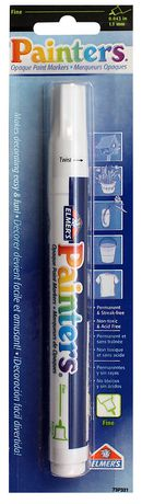 Elmer's Painters - Opaque Paint Markers, White - image 1 of 1