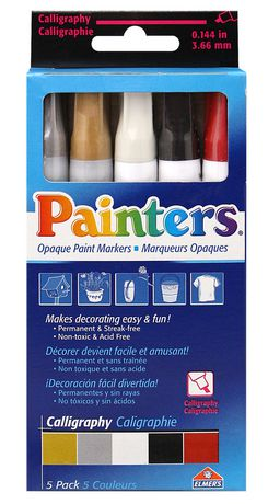 elmer 39 s painters calligraphy opaque paint markers
