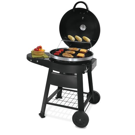 Backyard Grill Premium Charcoal Red Kettle Grill BBQ ...
