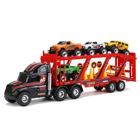 """New Bright 22"""" Car Carrier, Black - image 1 of 1"""
