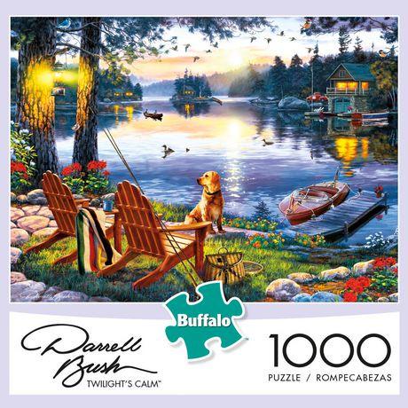 Buffalo Games Darrell Bush Twilight S Calm 1000 Piece