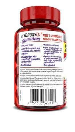 hydroxycut gummies how to take