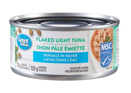 Great Value Flaked Light Tuna - image 1 of 2