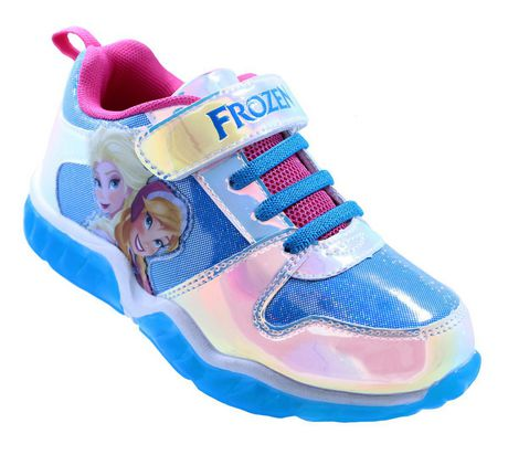 Frozen Lighted Athletic Shoes for Girls