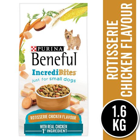 Beneful IncrediBites Dry Dog Food for Small Dogs, Rotisserie Chicken Flavour - image 1 of 9