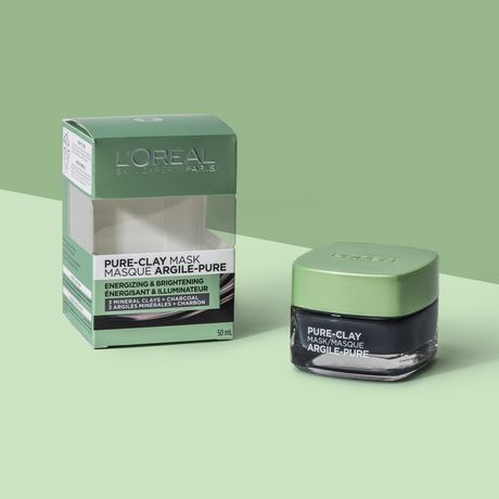 L'Oreal Paris Pure-Clay Cleansing Mask with 3 Mineral Clays + Charcoal, Energizes and Brightens Dull Skin - image 9 of 9
