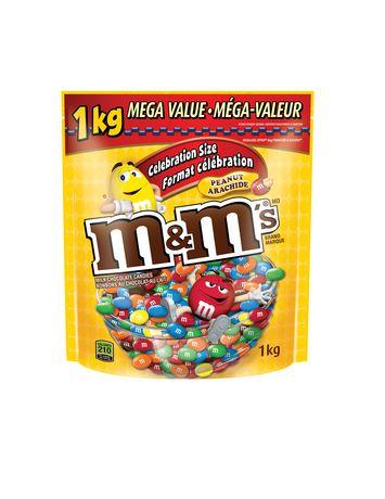 Bonbons aux arachides enrobées de chocolat au lait de M&M's - image 1 de 2