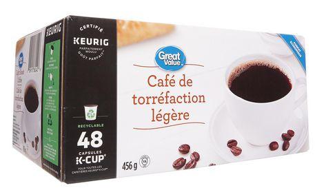 Great Value Keurig Light Roast Coffee - image 2 of 7