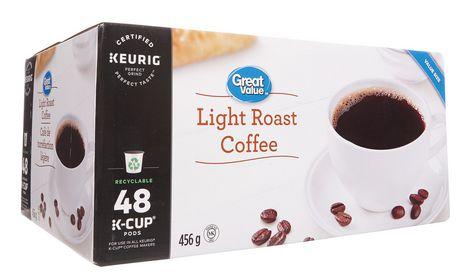 Great Value Keurig Light Roast Coffee - image 4 of 7