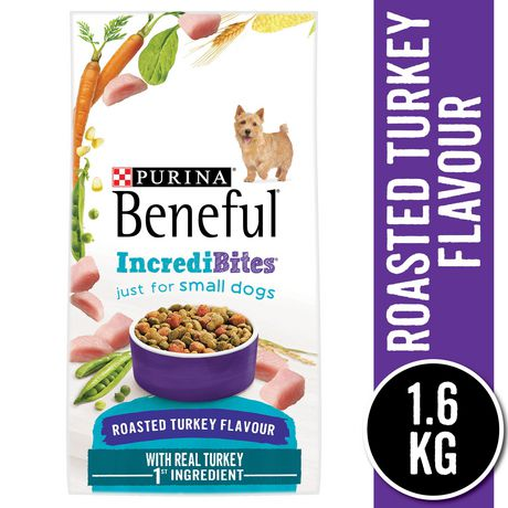 Beneful IncrediBites Dry Dog Food for Small Dogs; Roasted Turkey Flavour - image 1 of 5