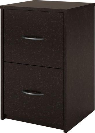 classeur 2 tiroirs de dorel walmart canada. Black Bedroom Furniture Sets. Home Design Ideas