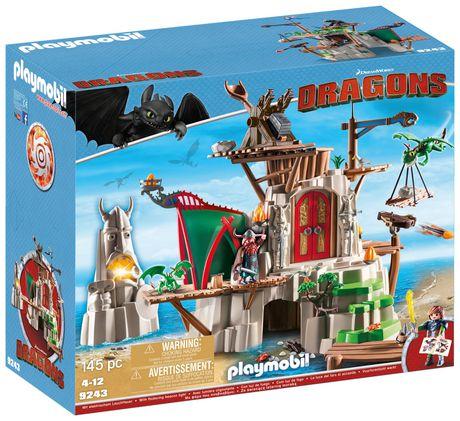 Ens. jeu de construction Campement de l'île de Beurk PLAYMOBIL - image 2 de 2