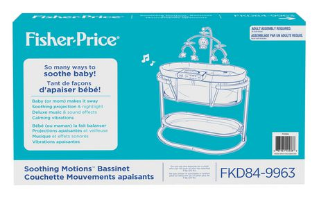 Fisher-Price Soothing Motions Bassinet - image 9 of 9