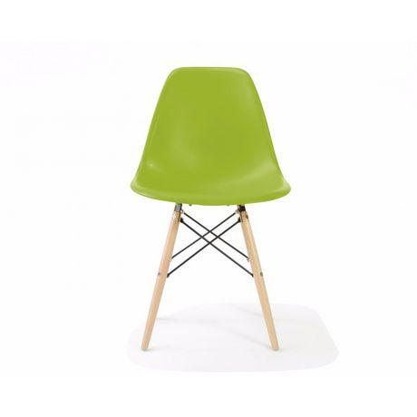 Chaise Eames De Nicer Furniture Aux Jambes En Bois