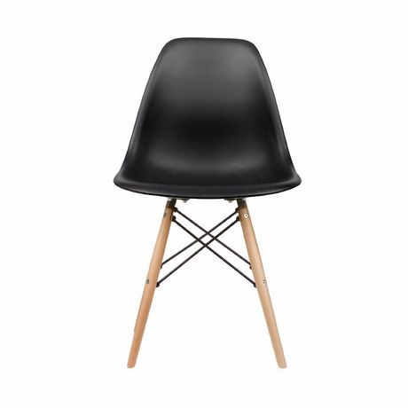 Nicer Furniture Black Modern Eiffel Dining Room Chairs - image 1 of 4