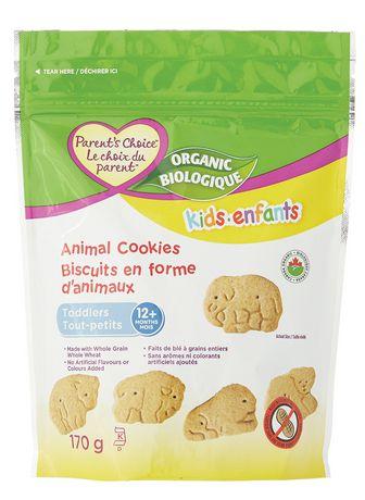 Parent's Choice Kid's Organic Animal Cookies - image 1 of 2