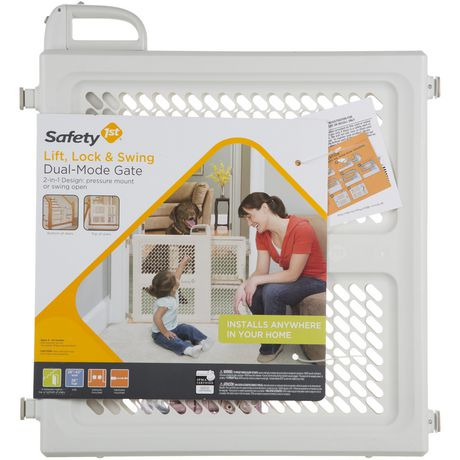 Safety 1st Lift Lock Amp Swing Plastic Dual Mode 2 In 1
