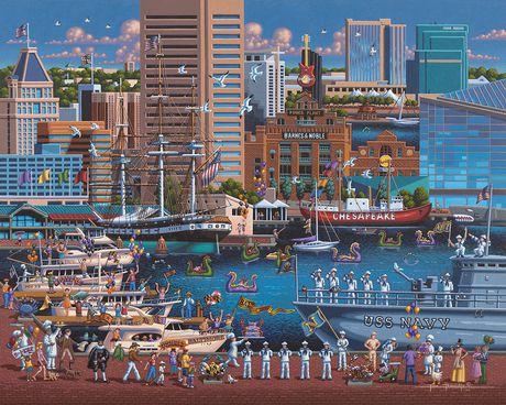 Baltimore - 1000 morceaux - image 3 de 3