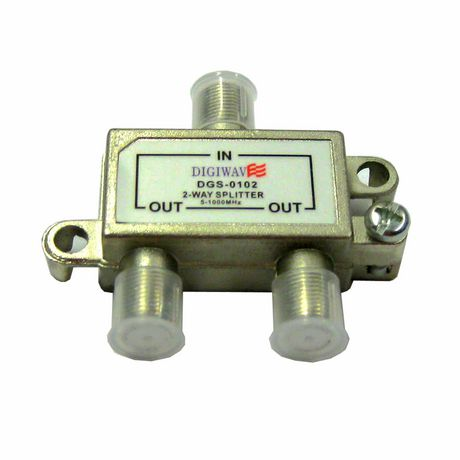 Digiwave 2 Way Splitter for 5 to 1000Mhz - image 1 of 1