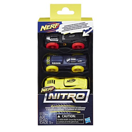 Nerf Nitro Car  Pack