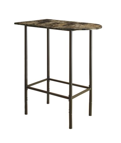 Monarch Specialties Metal Home Bar Table Walmartca