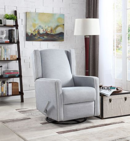 Fauteuil inclinable pivotant annie for Chaise bercante walmart