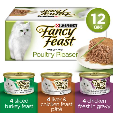 Fancy Feast Wet Cat Food, Poultry Pleaser Variety Pack - image 1 of 3