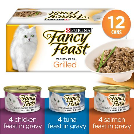 Fancy Feast Wet Cat Food, Grilled Variety Pack - image 1 of 4