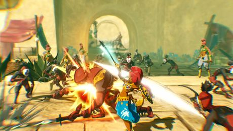 Hyrule Warriors Age Of Calamity Nintendo Switch Walmart Canada