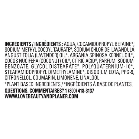 Love Beauty and Planet Argan Oil & Lavender Shampoo - image 9 of 9