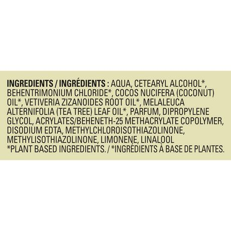Love Beauty And Planet Tea Tree Oil & Vetiver Conditioner Radical Refresher 400mL - image 9 of 9