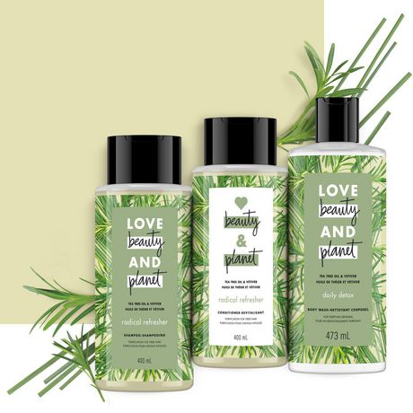 Love Beauty And Planet Tea Tree Oil & Vetiver Conditioner Radical Refresher 400mL - image 6 of 9